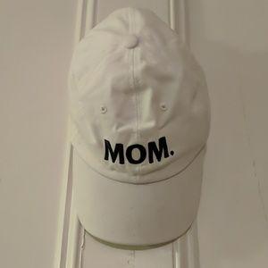 MOM white hat {Spencer's}